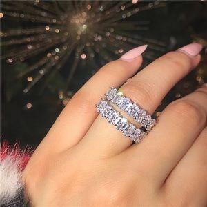 Jewelry - [1] ICEY WIFEY CZ Eternity Ring